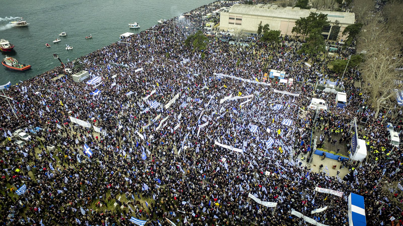 Συλλαλητήριο της Θεσσαλονίκης: Πως το σχολίασαν τα ξένα ΜΜΕ;