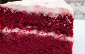 Ετοιμάστε για το Βαλεντίνο σας Τούρτα με Red Velvet Cake