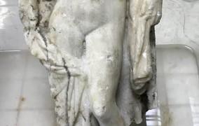 Βρέθηκε ακέφαλο άγαλμα της Αφροδίτης στα έργα του μετρό Θεσσαλονίκης