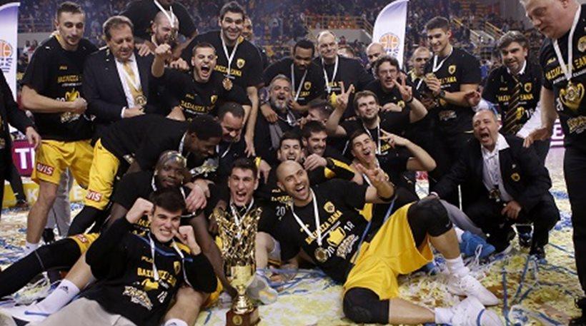 Μπάσκετ: Ολυμπιακός - ΑΕΚ 83-88: