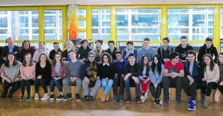 Γερμανία: 17 Έλληνες μαθητές απόλαυσαν για πρώτη φορά τα χιονισμένα τοπία!