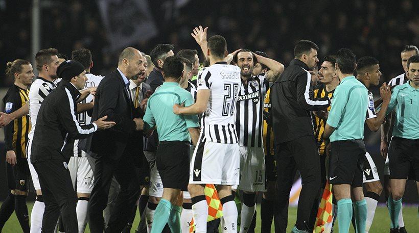 Απίστευτο! Νίκη ΠΑΟΚ (1-0), λόγω διακοπής του αγώνα με την ΑΕΚ