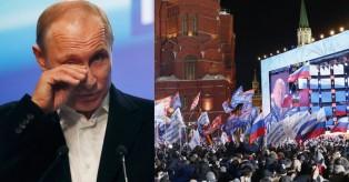 Ρωσία: Επανεκλογή Πούτιν με ποσοστό 75,5%