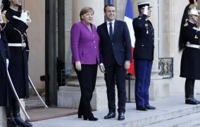 Ο Μακρόν πρότεινε στη Μέρκελ «ξεκάθαρο οδικό χάρτη» για την επανίδρυση της Ευρώπης