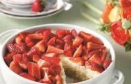 Γρήγορο εκμέκ με κρέμα και φράουλες