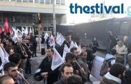 Θεσσαλονίκη: Επεισόδια έξω από το ξενοδοχείο που μίλησε ο Τσίπρας