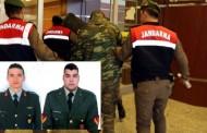 Με φυλάκιση 5 ετών απειλούνται οι δύο Έλληνες στρατιωτικοί