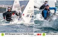 Ιστιοπλοΐα: Ένα ασημένιο και ένα χάλκινο μετάλλιο για την Ελλάδα στα «European Youth Championships & Trophy 2018»,