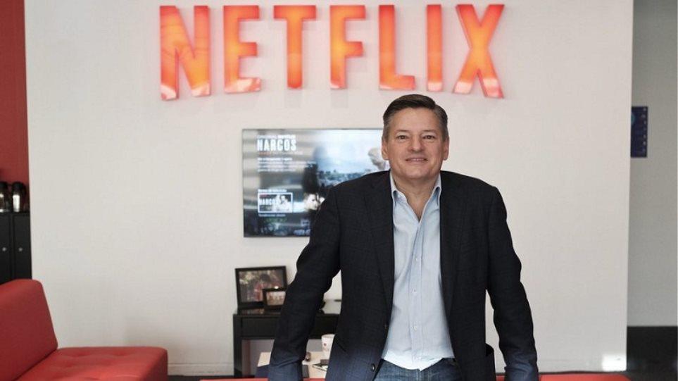 Τεντ Σαράντος: Η «ψυχή» του Netflix είναι Έλληνας μετανάστης τρίτης γενιάς από τη Σάμο