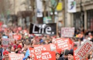Μεγάλη διαδήλωση κατά των αμβλώσεων στο Δουβλίνο