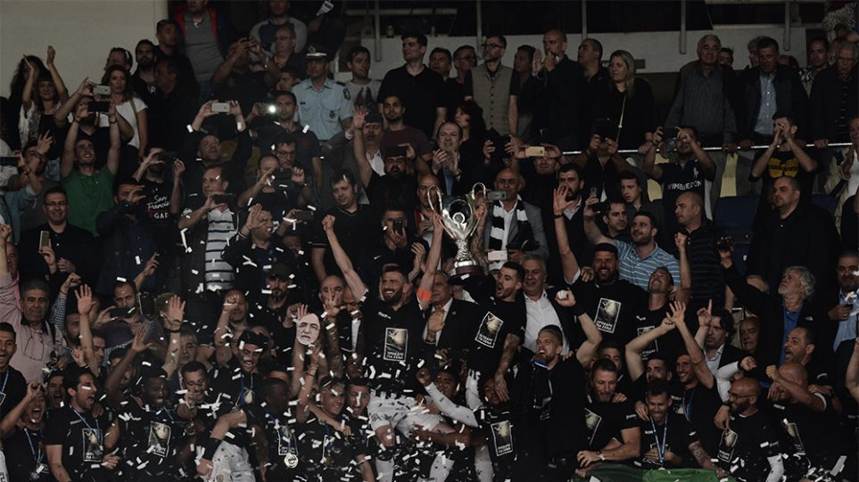 ΑΕΚ-ΠΑΟΚ 0-2: Κυπελλούχος για δεύτερη συνεχόμενη χρονιά ο Δικέφαλος του Βορρά