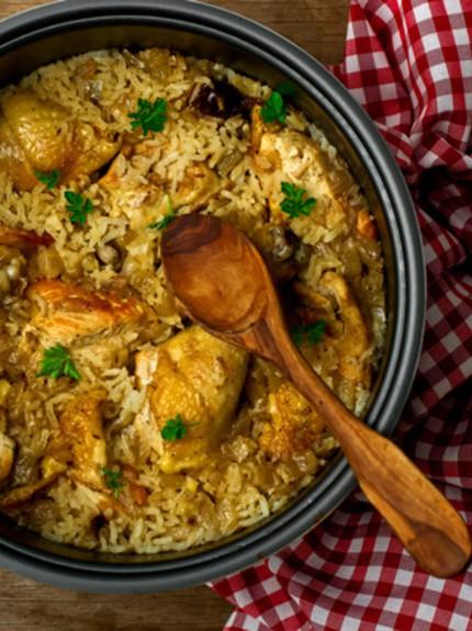 Το τέλειο Κοτόπουλο με ρύζι στο φούρνο
