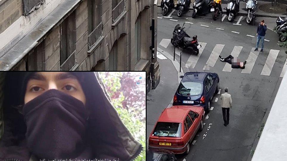 Επίθεση με μαχαίρι στο Παρίσι: Βίντεο με τον Τσετσένο τζιχαντιστή ανέβασε το Ισλαμικό Κράτος