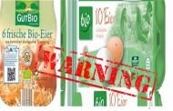 Γερμανία: Προσοχή! Ανακαλούνται Βιολογικά Αυγά λόγω Σαλμονέλας