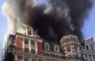 Tεράστια πυρκαγιά στο Mandarin του Λονδίνου, στο Knightsbridge