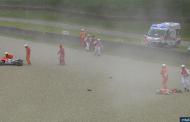 Βίντεο: Τρομακτικό ατύχημα στο MotoGp - Αναβάτης εκτοξεύτηκε από τη μηχανή τρέχοντας με 350 χλμ/ώρα