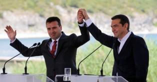 Υπεγράφη η ιστορική συμφωνία Αθήνας- Σκοπίων