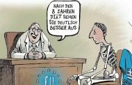 Το καυστικό σκίτσο του Spiegel για τα οκτώ χρόνια «δίαιτας» της Ελλάδας