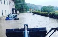 Γερμανία: Σφοδρή κακοκαιρία σάρωσε περιοχές της Έσσης – Πλημμύρισαν δρόμοι και υπόγεια
