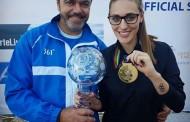 Η Άννα Κορακάκη πήρε το χρυσό και στο παγκόσμιο κύπελλο