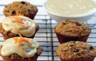 Σήμερα Φτιάχνουμε Πεντανόστιμα Ατομικά κέικ καρότου κι αμυγδάλου