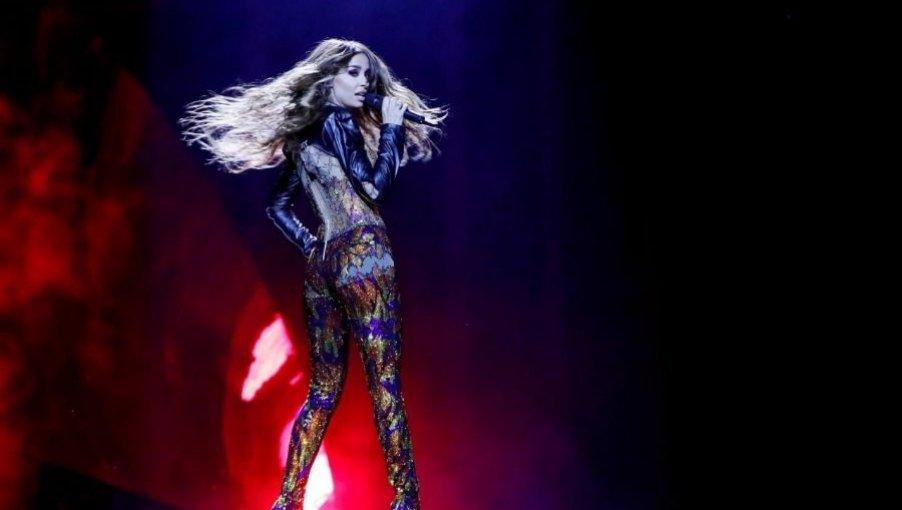 Eurovision: Ξεσήκωσε τη Λισαβόνα η Φουρέιρα! - Δείτε την εμφάνισή της