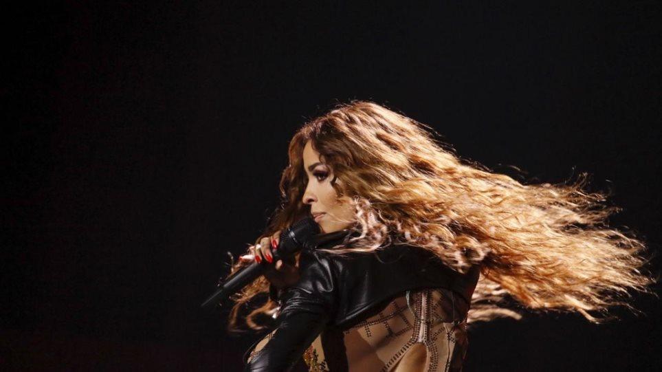 Ελένη Φουρέιρα: Εκρηκτική η δεύτερη πρόβα της στη σκηνή της Eurovision