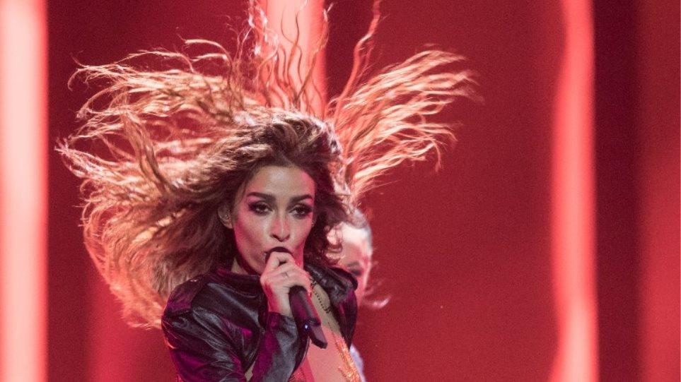 Eurovision 2018: «Εκρηκτική» η εμφάνιση της Ελένης Φουρέιρα στον τελικό