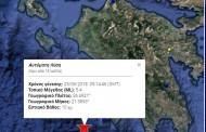 Σεισμός 5,4 Ρίχτερ δυτικά της Πύλου