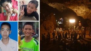 Ταϊλάνδη: Αυτά είναι τα 4 αγόρια που σώθηκαν από τη σπηλιά