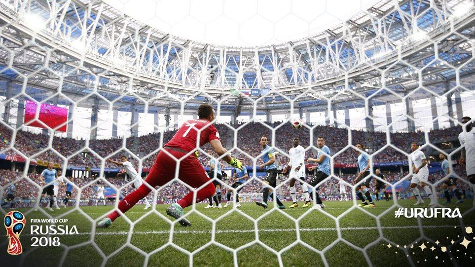 Μουντιάλ 2018 - Ουρουγουάη-Γαλλία 0-2: Allez les Bleus!