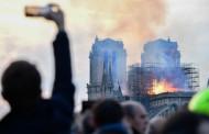Η Γερμανία σιωπεί λυπημένη μπροστά στην Παναγία των Παρισίων που καίγεται